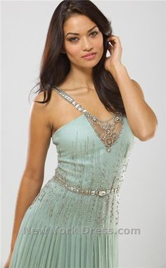 Had to also pin it in the seamist color just because I love this dress in this color.  Mignon VM570