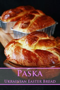 Ukrainian Easter Bread Recipe, Ukrainian Recipes, Russian Recipes, Ukrainian Food, Ukrainian Desserts, Paska Bread Recipe, Easter Recipes, Holiday Recipes, Polish Recipes