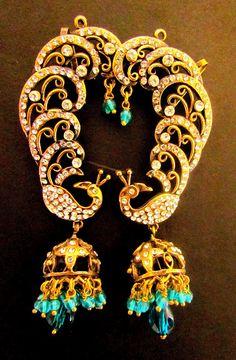 Peacock Stylish Earrings at http://www.khushrang.com