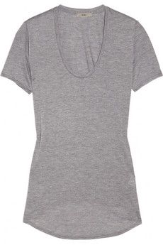 HELMUT Helmut Lang Kinetic modal-blend jersey top