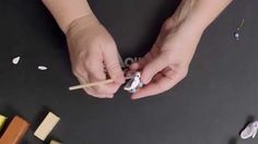 Creating a Polymer Clay Nesting Bird Focal Bead