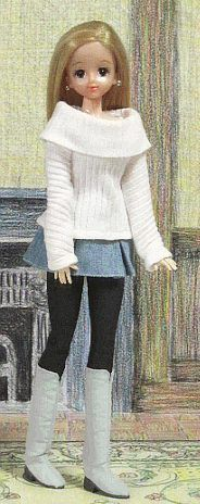 「パプペポ- Japanese site for fashion doll patterns. Not in English, but lots of pictures.
