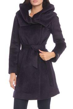 gorgeous suri alpaca coat from cole haan