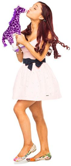 Cat valentine~Sam and cat and victorious~played by Ariana grande.