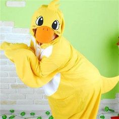 Kigurumi Adult Animal Onesies - Duck - Shipping Cap Promotion- - TopBuy.com.au