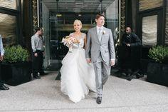 Photography: Emily Wren - www.emilywren.com  Read More: http://www.stylemepretty.com/2014/10/01/philadelphia-wedding-full-of-colorful-florals/