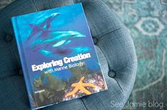Apologia Marine Biology - how we used this text in our relaxed homeschool with additional ocean and marine study resources.