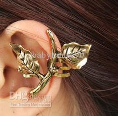Vintage Womens Clip On Earrings Mens Punk Leaves Cartilage Ear Cuff Earring Jewelry From Babyhouse90, $13.85 | Dhgate.Com
