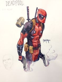Deadpool by Dan Mora. - Living life one comic book at a time.
