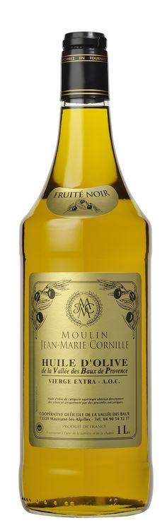 Bouteille 1L Fruité Noir AOP Vallée des Baux