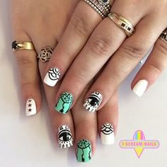 These stunning designs. | 34 Photos That Will Make You Want To Step Up Your Nail Art Game