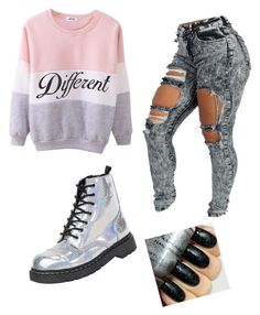 """""""Different is the new cool"""" by meenarammadan on Polyvore featuring T.U.K., women's clothing, women, female, woman, misses and juniors"""