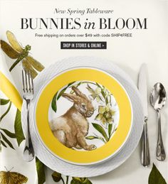 Easter Place Setting - Williams Sonoma