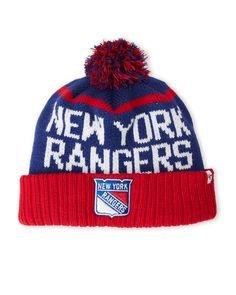 '47 Brand New York Rangers Pom-Pom Linesman Knit Hat