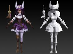 다섯 번째 엔티티 클래스 작업 02 Female Character Design, Character Modeling, Character Creation, Game Character, 3d Modeling, Character Reference, Animation Programs, Digital Sculpting, Hand Painted Textures