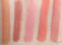 Colour Pop Holiday Colors (L to R: Cookie, Bound pencil, Bound, Frida, Lumiere)