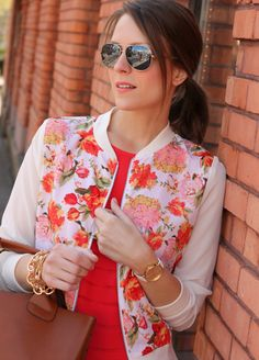 Loving the Floral #BarIII Jacket on Penny Pincher Fashion.