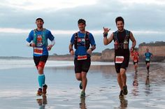 Throwback Thursday to the 2014 Surf Coast Century 100k. Here my two comrades (@lamastylus and @seanw009) and I are cruising the first leg of the race. This section of the race is quite magical with around 25km's of sea cliffs to your left and the surf beach(s) to your right all while watching the sunrise in front of you. I can't recommend this race highly enough for both experienced ultra runners or newbies looking to run their first 100k. @rapidascent #surfcoastcentury #ultrarunning…