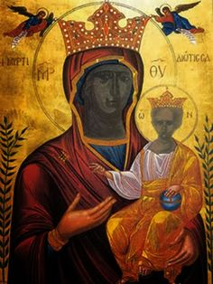 Ορθόδοξα Ωφελήματα: Η Παναγία η Μυρτιδιώτισσα (24 Σεπτεμβρίου)