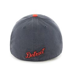 Detroit Tigers 47 Brand Vintage Road Franchise Fitted Hat