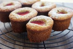 dietkiller:  strawberry almond cakes (gluten + dairy-free) (by...