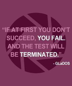 I love/hate GLaDOS!