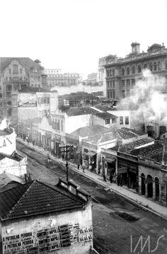 Rua Anhangabaú (Lévi-Strauss, 1937)