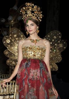 Dolce & Gabbana Alta Moda Fall/Winter 2015
