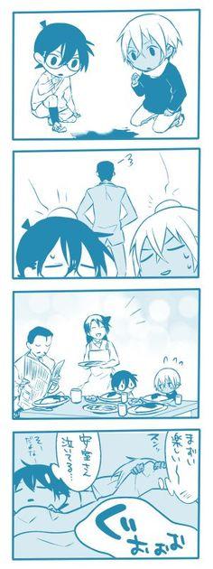 Si Rei et Shinichi étaient tous les deux petits <3