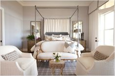 light wood canopy bed - Google Search