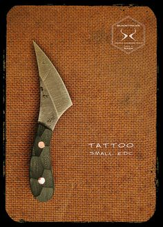 Bladetricks Tattoo Small EDC Custom Knife