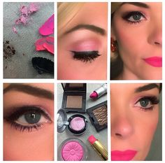 Passion for Pink! Beauty Ideas, Beauty Tips, Beauty Hacks, Hair Beauty, Makeup Tips, Hair Makeup, Blue Eyes Pop, Jaime King, Makes You Beautiful