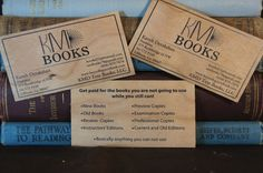 wood business cards - cool!