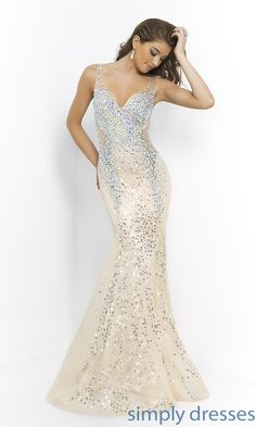Shop Simply Dresses for Blush beaded formal dresses. Sheer layers beaded with sequins and beads look great at formal ball dances, prom, weddings.