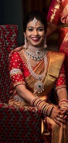 Jewerly Necklace Diamond Fashion Beautiful 27 Ideas For 2019 Indian Bridal Outfits, Indian Wedding Jewelry, Bridal Jewellery, Wedding Outfits, Wedding Attire, Indian Style, Indian Wear, Diamond Necklace Set, Diamond Jewelry