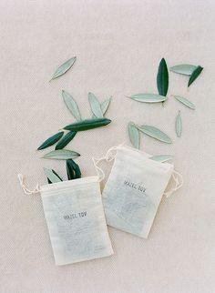 Organic Confetti! Olive leaf confetti for weddings