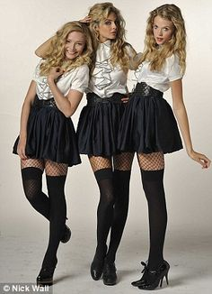 The return of the girls from St Trinian's... and they say standards are slipping | Mail Online