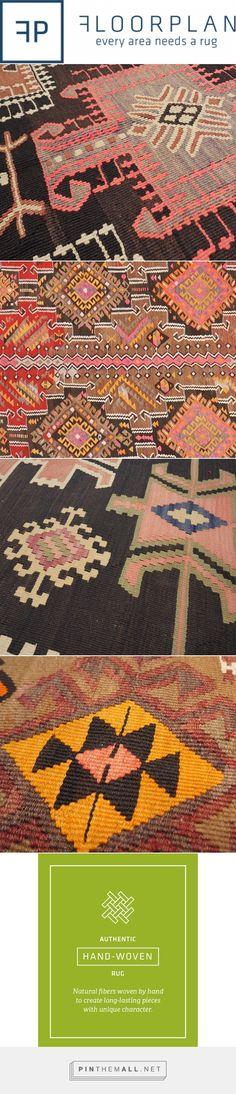 Kilims: Vintage and New | Bold Motifs | Floorplan Rugs