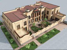 Big Villa in Tashkent. Designed by SDS PROEKT.