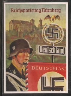 A poster for the NSDAP party day.