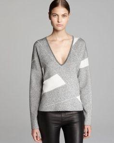Helmut Lang Sweater - Geo Pleat  Bloomingdale's