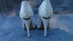 2 Batman Dark Knight Vinyl Stickers For Wedding by thefogshoppe, $2.99