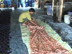 A fascinating video on how batiks are made in Bali