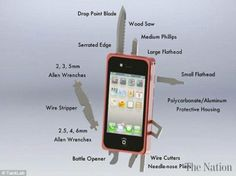 iPhone turns mobile  into army knife