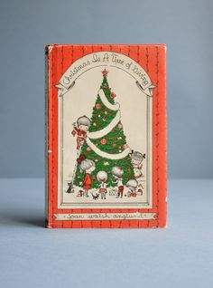 """Joan Walsh Anglund """"Christmas is a Time of Giving"""" Book - 1st Printing. 14.00, via Etsy."""