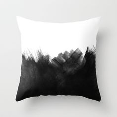 Black Hole Throw Pillow by cafelab - $20.00