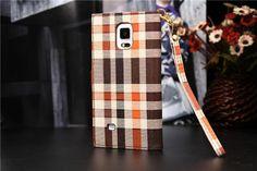 LV Gucci Ledertasche mit Metallkanten für Samsung Galaxy Note 4 - spitzekarte.com
