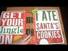 Christmas Junk Journal -elfedition - YouTube