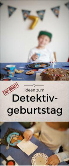 Alles für einen gelungenen Detektivgeburtstag! Alles erprobt und mit Anleitungen! Von der Einladung, über Deko, Detektiv-Geburtstagskuchen, Detektivspiele...http://www.achistdasnett.com/motto-geburtstage/category/detektiv-geburtstag