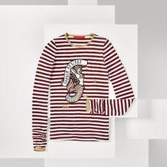 Shoppen Sie T-shirt Mit Fleet Week-motiv und erkunden Sie die Tommy Hilfiger…